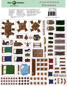 Dungeon Dressing - Furniture