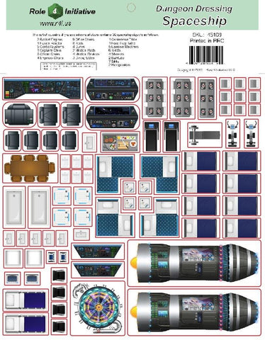 Dungeon Dressing - Spaceship