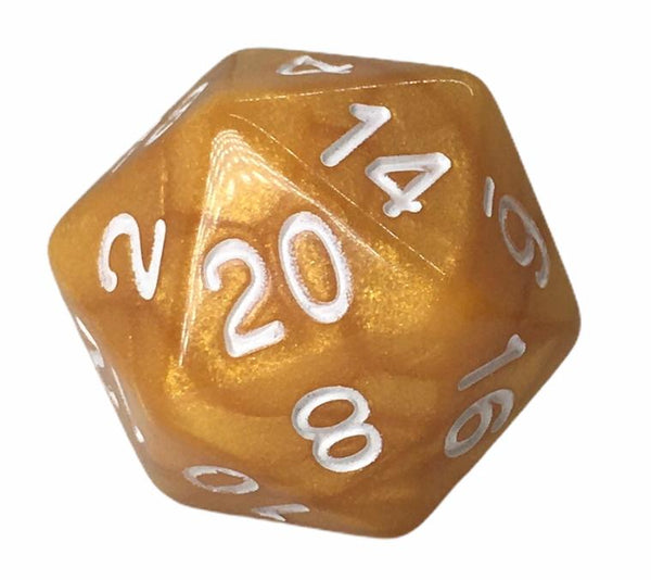 Marble Caramel with White Numbers