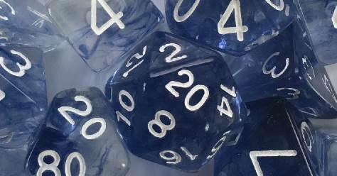 Diffusion Blue Ink w/ White Numbers