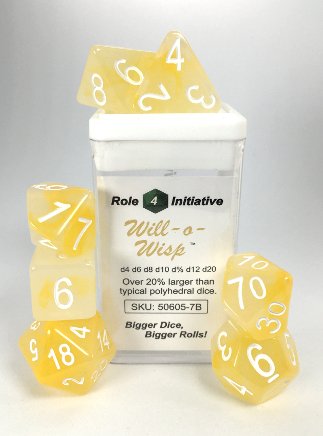 Will-o-Wisp w/ White Numbers