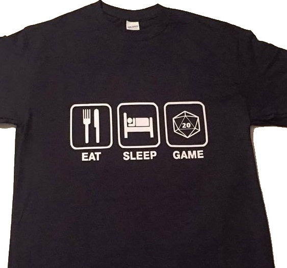 T-Shirt: Eat Sleep Game