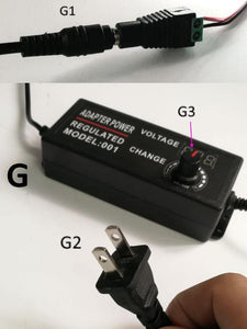 Display AC/DC power adapter
