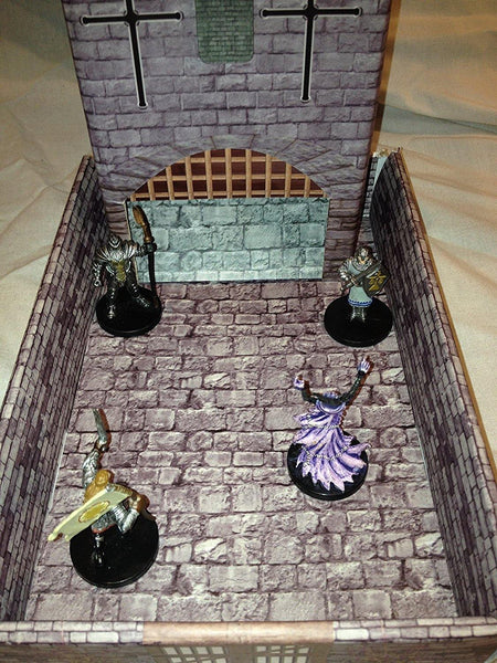 Castle Keep Dice Tower