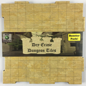 Dry-Erase Dungeon Tiles, Earthtone, Booster Pack