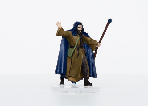 Male Human Wizard - 28mm Plastic Mini