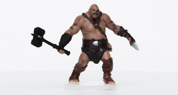 Male Orc Battlemaster - 28mm Plastic Mini