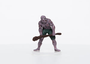 Zombie Male Half-Orc Basher - 28mm Plastic Mini