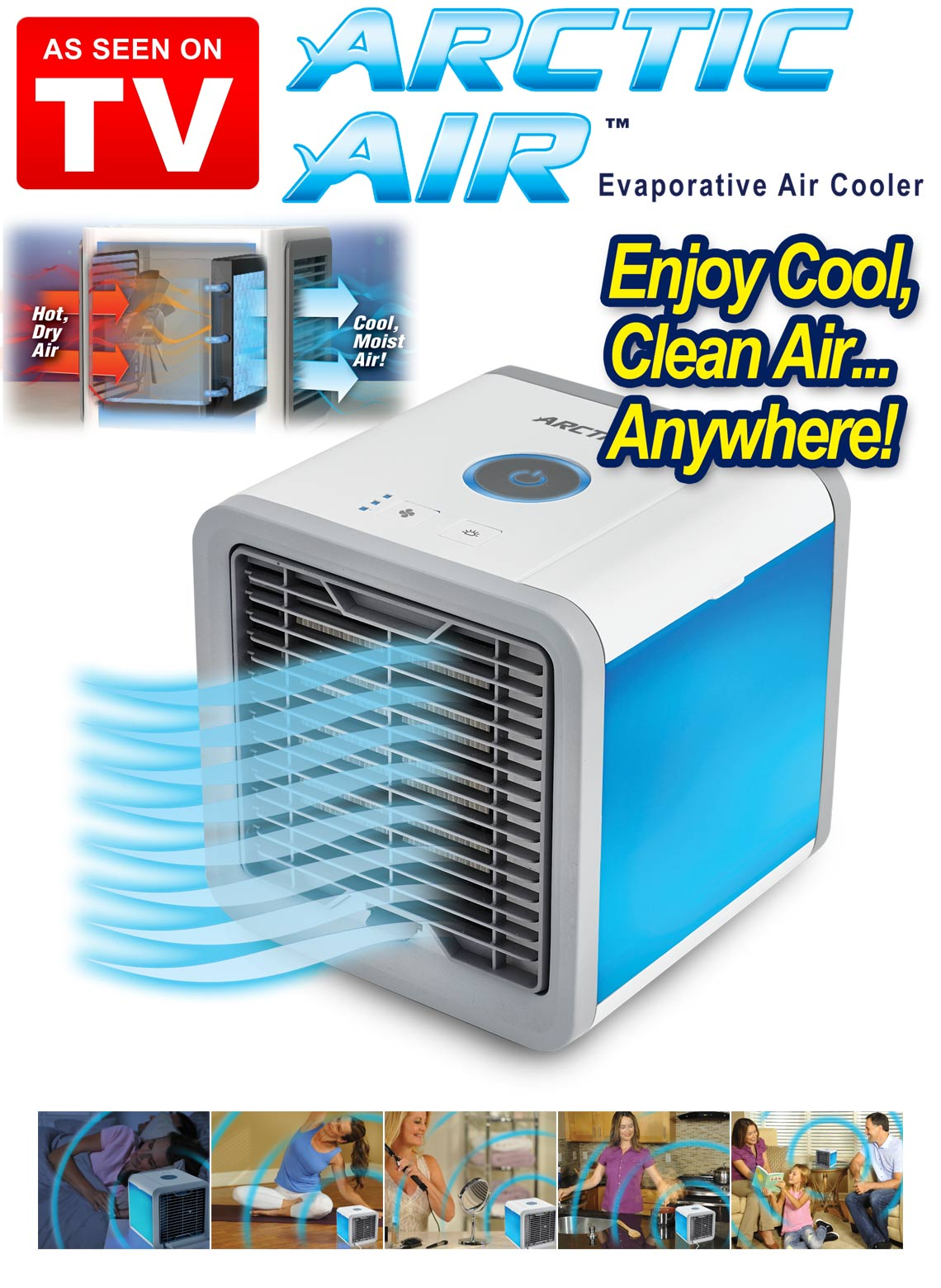 Arctic Air Portable In Home Air Cooler As Seen On Tv Alumincomingshop