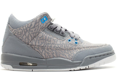 Jordan 3 Retro Flip Cool Grey Blue Glow (GS)
