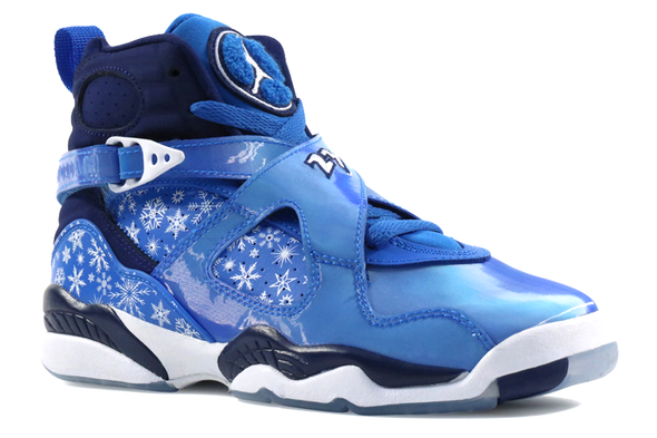 "Air Jordan 8 Retro ""SnowFlake Blizzard"" GS - ShopRetroKicks"