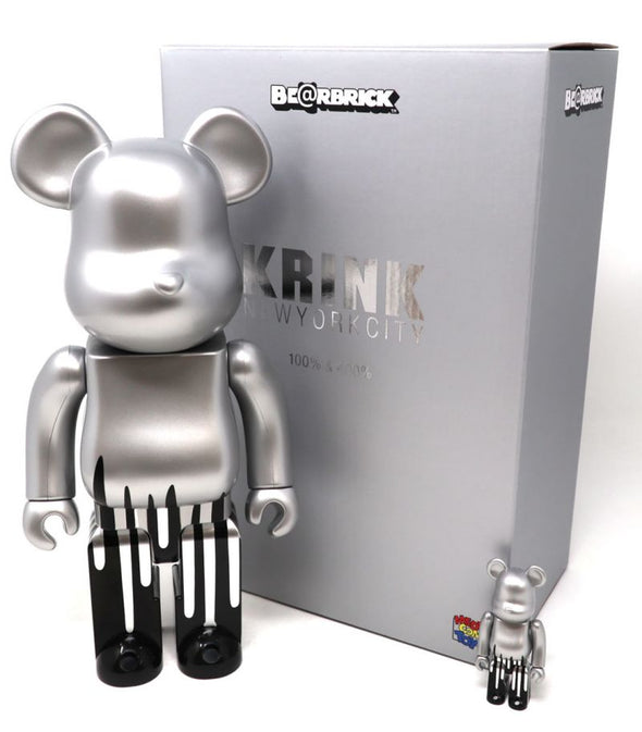 Krink 100% 400% Set Bearbrick Bait Medicom Toy