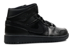 "Air Jordan 1 Retro ""Black/Black"" Mid - ShopRetroKicks"