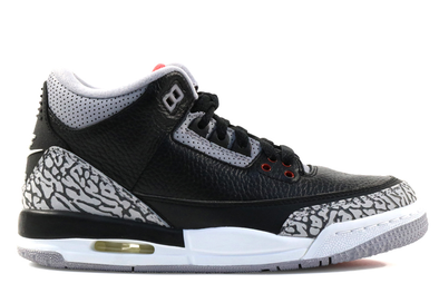"Air Jordan 3 Retro ""Black Cement"" GS - ShopRetroKicks"