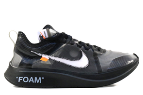 "Nike Air Zoom Fly Off-White ""Black"""