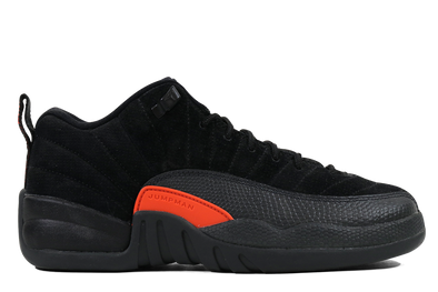 "Air Jordan 12 Retro Low ""Black"" GS - ShopRetroKicks"