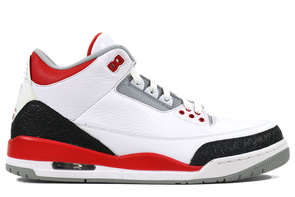 "Air Jordan 3 Retro ""Fire Red"" - ShopRetroKicks"