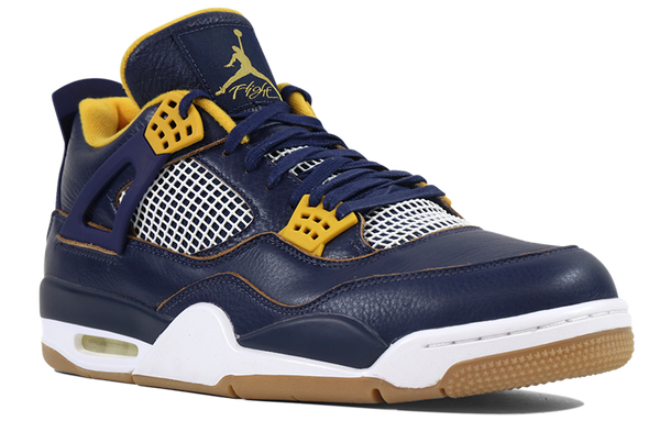"Air Jordan 4 Retro ""Navy Blue Gum"" - ShopRetroKicks"