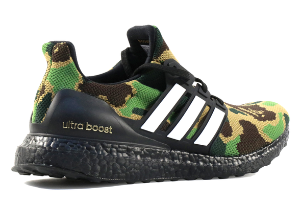"Adidas x Ultra Boost Bape ""Green Camo"" - ShopRetroKicks"