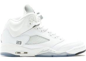Jordan 5 Retro Metallic White 2015 (GS)