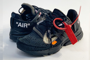 "Nike Air Presto Off-White ""Black"" (La Leche Sticker)"