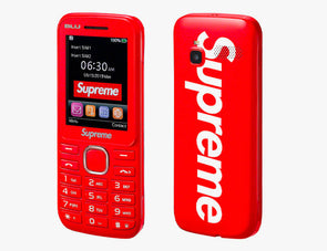 Supreme Burner Phone (Red)