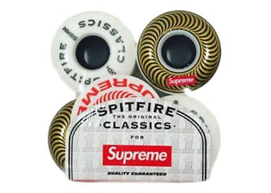 Supreme Spitfire Classic Wheels (Set of 4) Gold 58MM