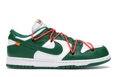 Nike Dunk Low Off-White Pine Green