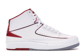 Jordan 2 Retro White Red