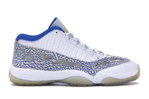 Jordan 11 Retro Low IE White Argon Blue