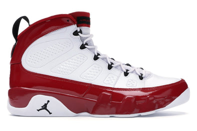Jordan 9 Retro White Gym Red