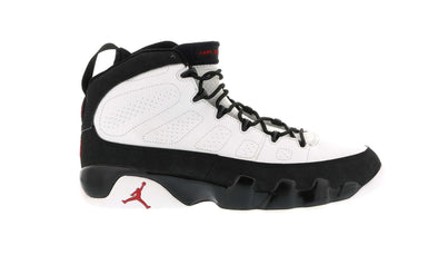 Jordan 9 Retro White Black Red (2002)