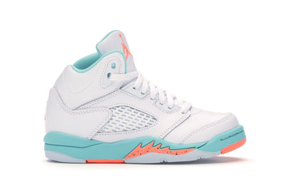 Jordan 5 Retro Light Aqua (PS)