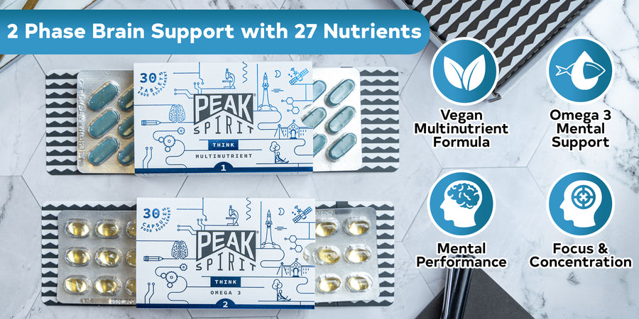 Think - The Smart Formulation for Brain Health & Memory with Omega 3