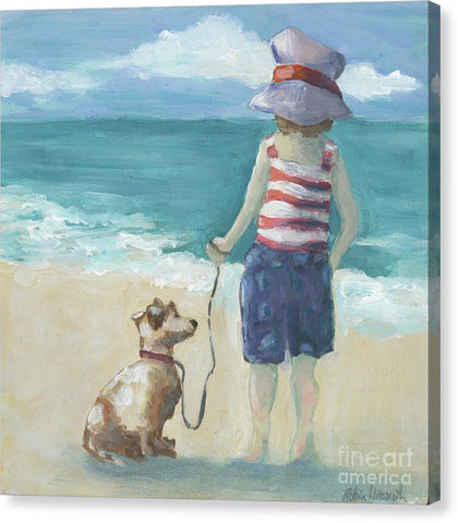Walk The Dog - Canvas Print