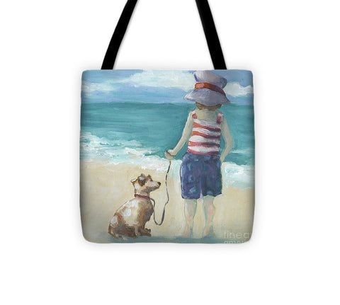 Walk The Dog - Tote Bag