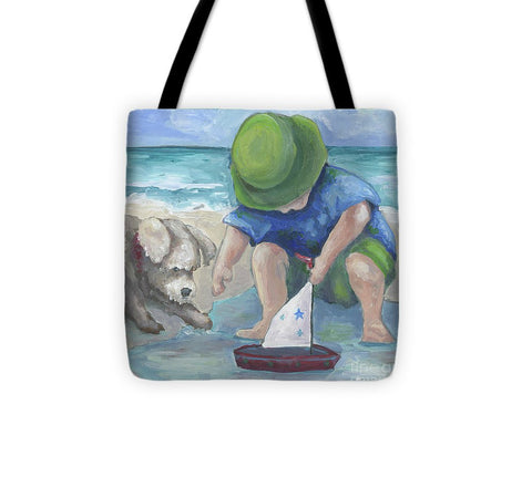 A Tall Ship - Tote Bag