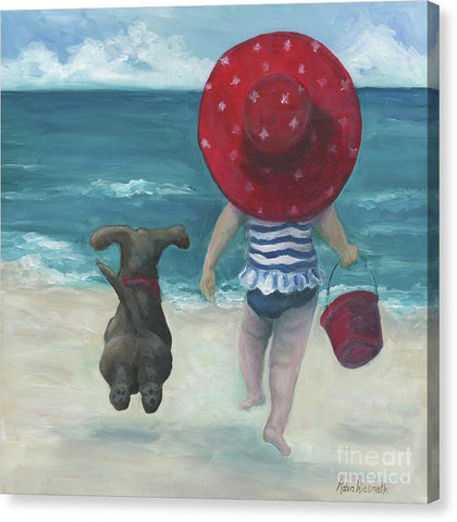 Beach Buddies 2 - Canvas Print