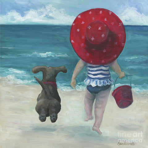 Beach Buddies 2 - Art Print