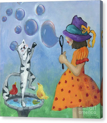 Bubbles - Canvas Print