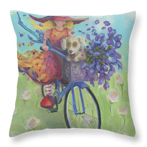 Field Trip - Throw Pillow