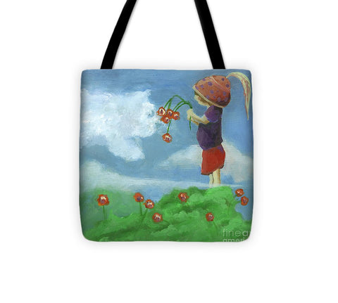 Head In The Clouds - Tote Bag