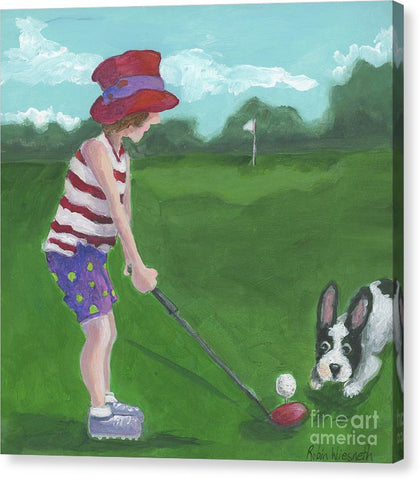 Hole In One - Canvas Print