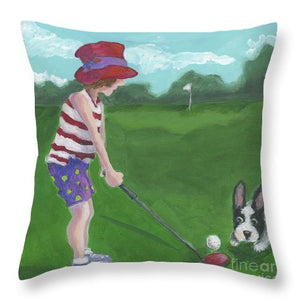 Hole In One - Throw Pillow