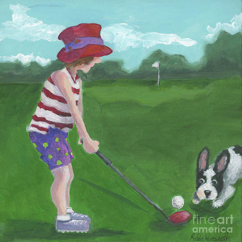 Hole In One - Art Print