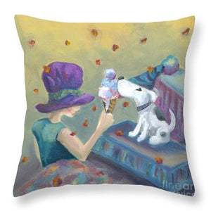 Ice Cream Party - Throw Pillow