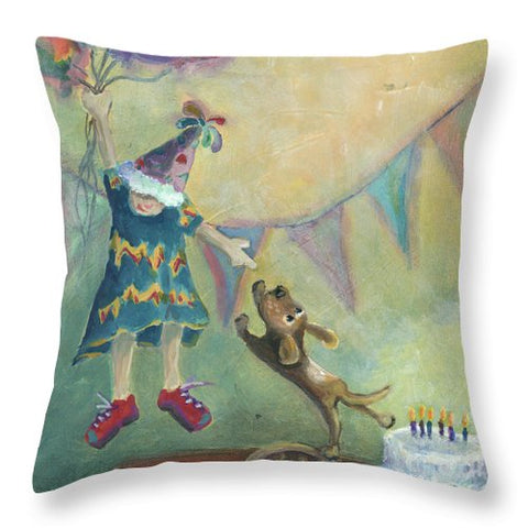I'll Fly Away - Throw Pillow