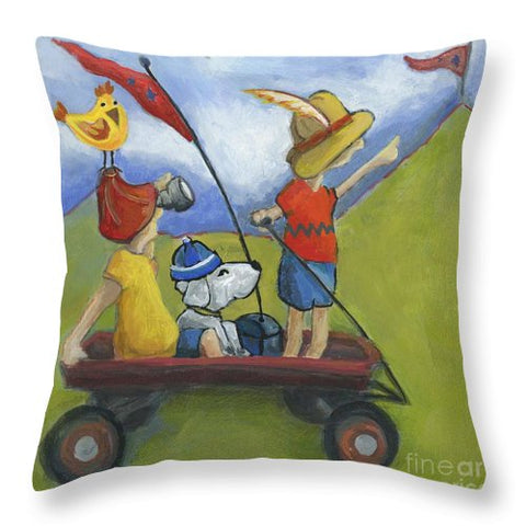 Lewis And Clark - Throw Pillow