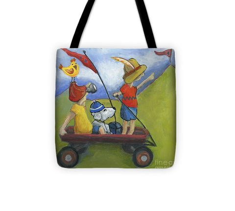 Lewis And Clark - Tote Bag