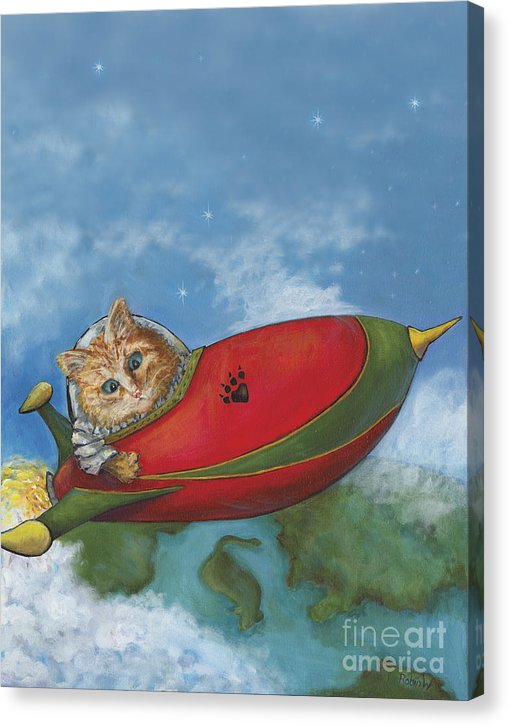 Major Tom Searches For Mouse Island - Canvas Print